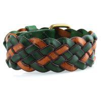 Шкіряний браслет Everiot TN-DL-117 з плетінням 6771c43372473